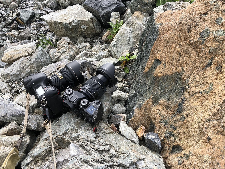 登山ではなく写真撮影という考え方をしている
