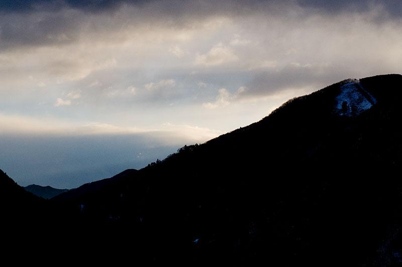 冬の登山のタイムスケジュール