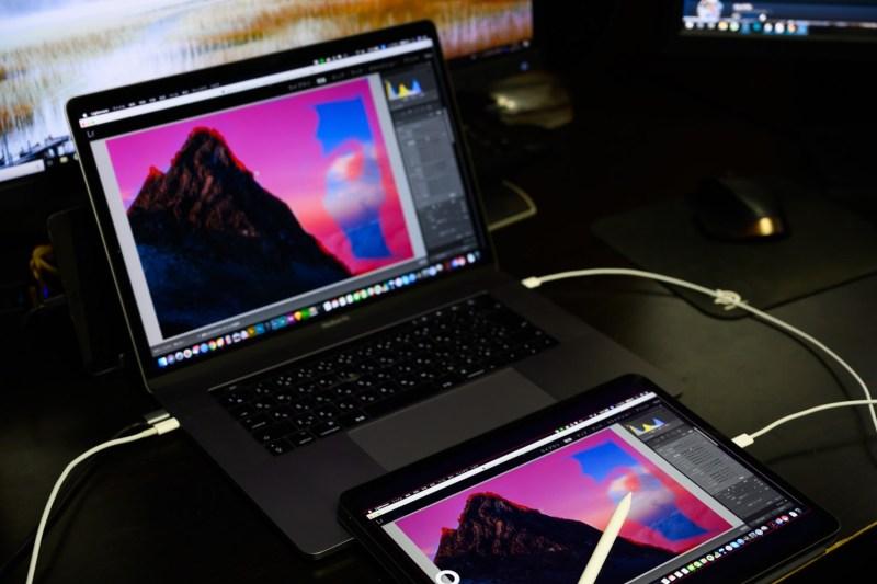 iPad Pro 2018 12.9インチを使ったRAW現像