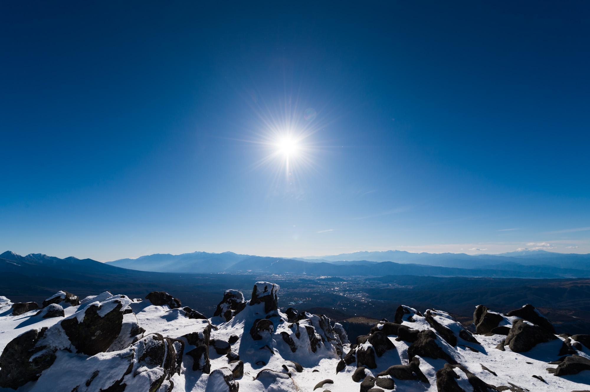 山岳写真をフリー素材として公開