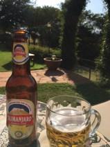 Øl i solen på Highview