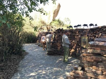 Sti rundt besøkssentret i Serengeti