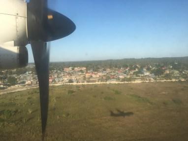 Innflyving på Zanzibar