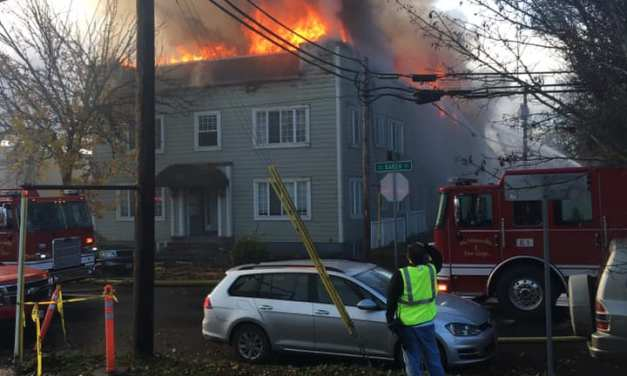 Two Alarm Blaze Damages McMinnville Apartment Building, Displacing Residents