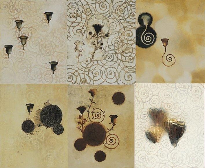 Yamou, De la fleur à l'arabesque montage 2, 1998