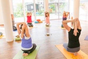 Rücken Yoga