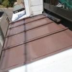トタン屋根上塗り1回目サーモアイ4F
