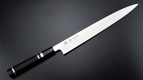 Yanagi Knife 柳葉刀鋪 . 佑成 ZDP-189 粉末鋼 和筋引 (三白銅柄)