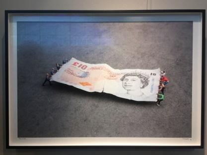 """Tug of war"", Slinkachu, £1,900"