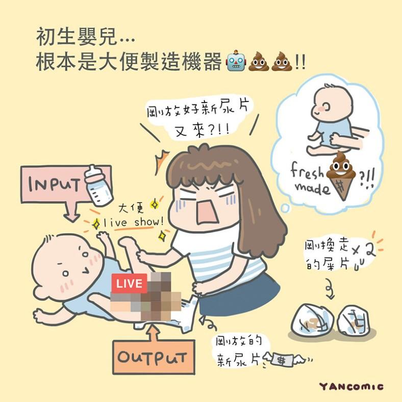 【大福養成記 ♥ 大便製造機器?】   輕熟女Yan的繪圖日誌