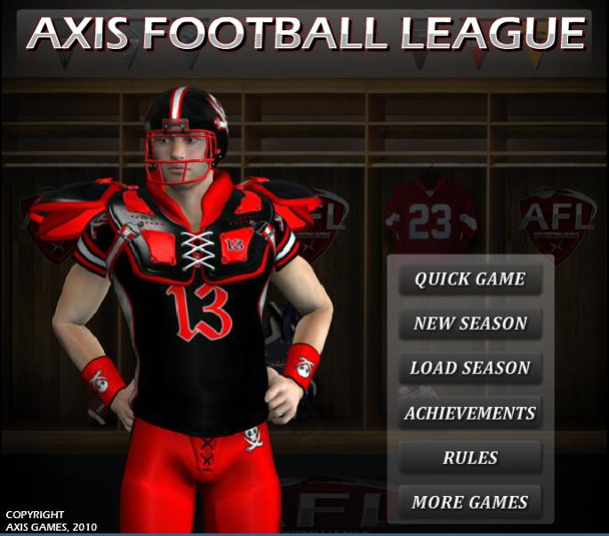Axis Football League unblocked