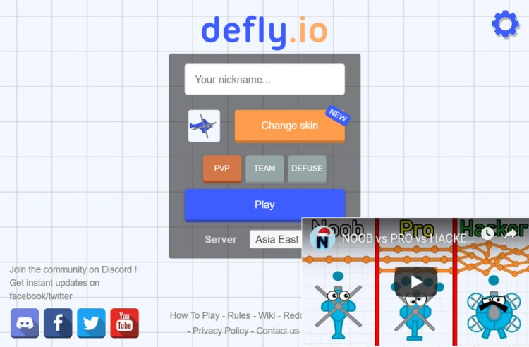 defly.io unblocked