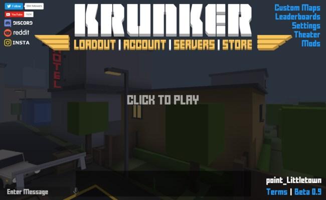 Krunker Unblocked Games Yandere Games