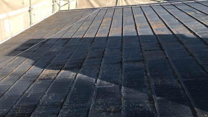 流山市の屋根葺き替え工事のビフォーアフター