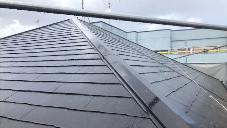 屋根塗装の施工