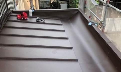 松戸市の屋根葺き替え工事の施工事例
