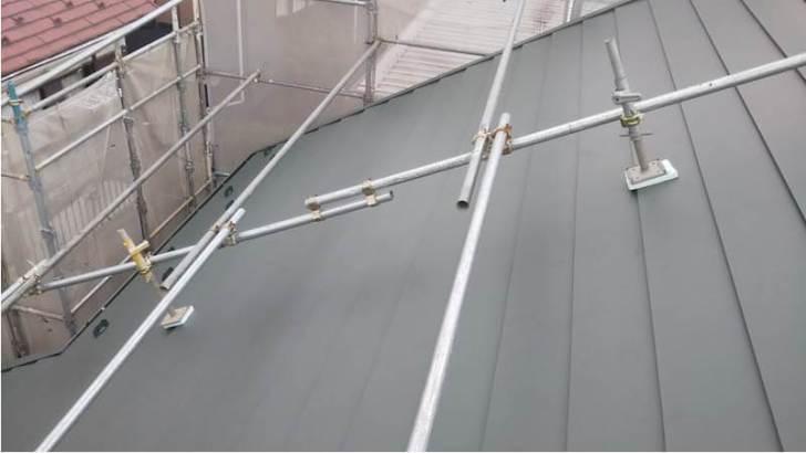 杉並区の屋根葺き替え工事の施工後の様子