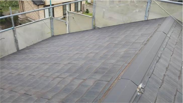 習志野市の屋根リフォームの施工前の様子