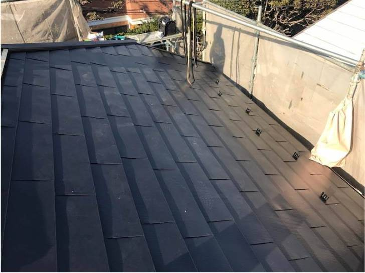 世田谷区の屋根リフォームの施工後の様子