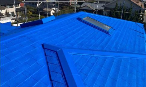 九十九里町の屋根リフォームの施工事例