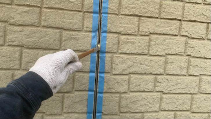 豊島区の外壁塗装のコーキングの交換工事