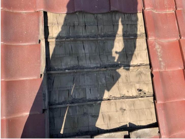横浜市の屋根修理の瓦の葺き替え工事