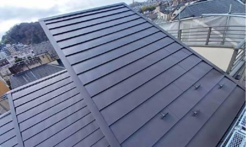 日野市の屋根リフォームの施工事例