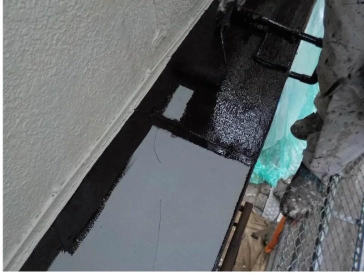 豊島区の外壁塗装の付帯部塗装