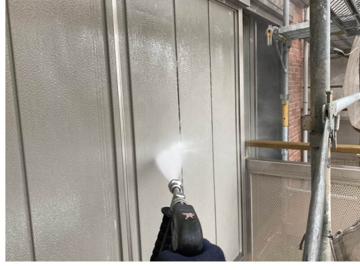 船橋市の屋根・外壁塗装の高圧洗浄