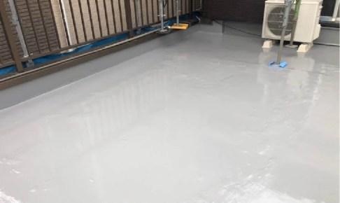 足立区の屋上防水工事の施工事例