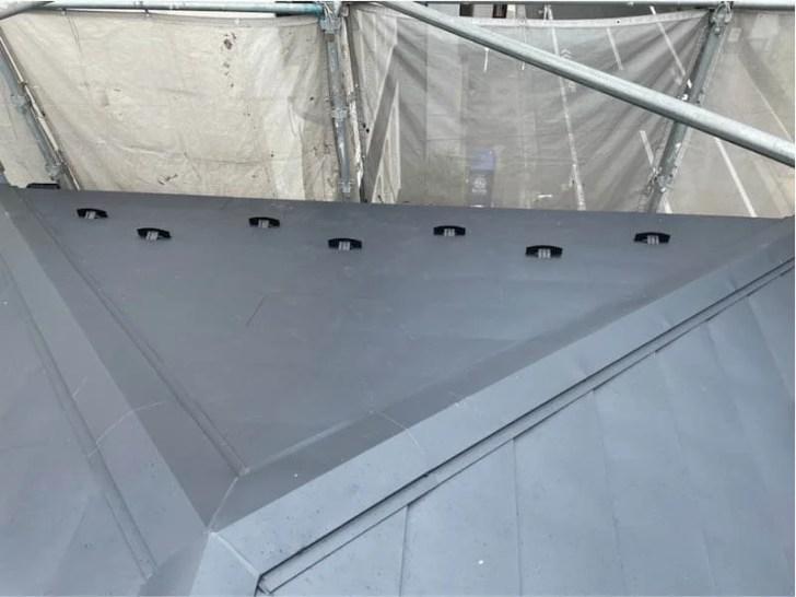 江東区の屋根リフォームの施工後の様子