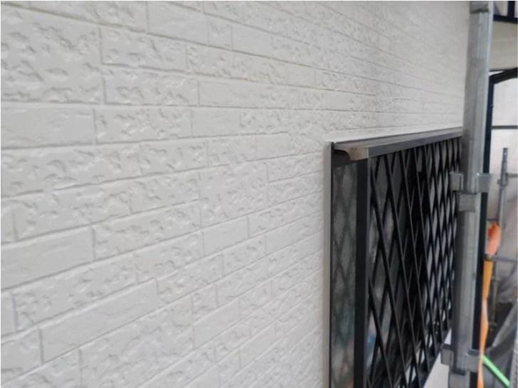 江東区の外壁塗装の施工後の様子