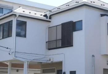 金属サイディングの住宅
