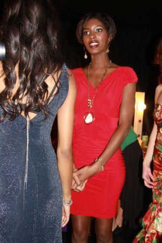 YANE MODE winner knit dress of fffashion Hollywood LA 47
