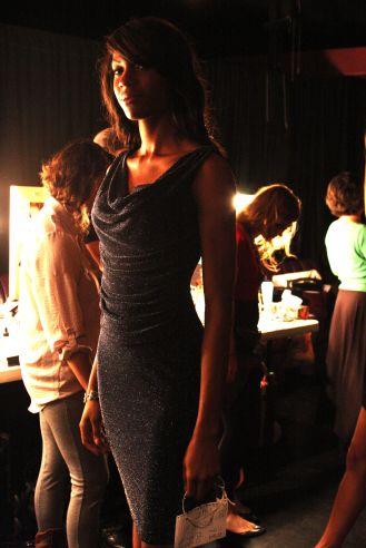 YANE MODE winner knit dress of fffashion Hollywood LA 7