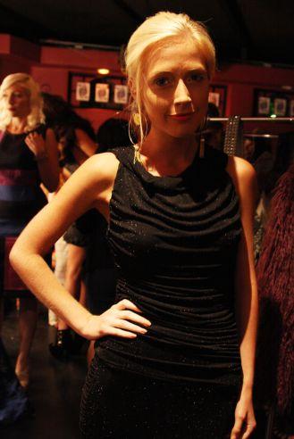 YANE MODE winner knit dress of fffashion Hollywood LA 9