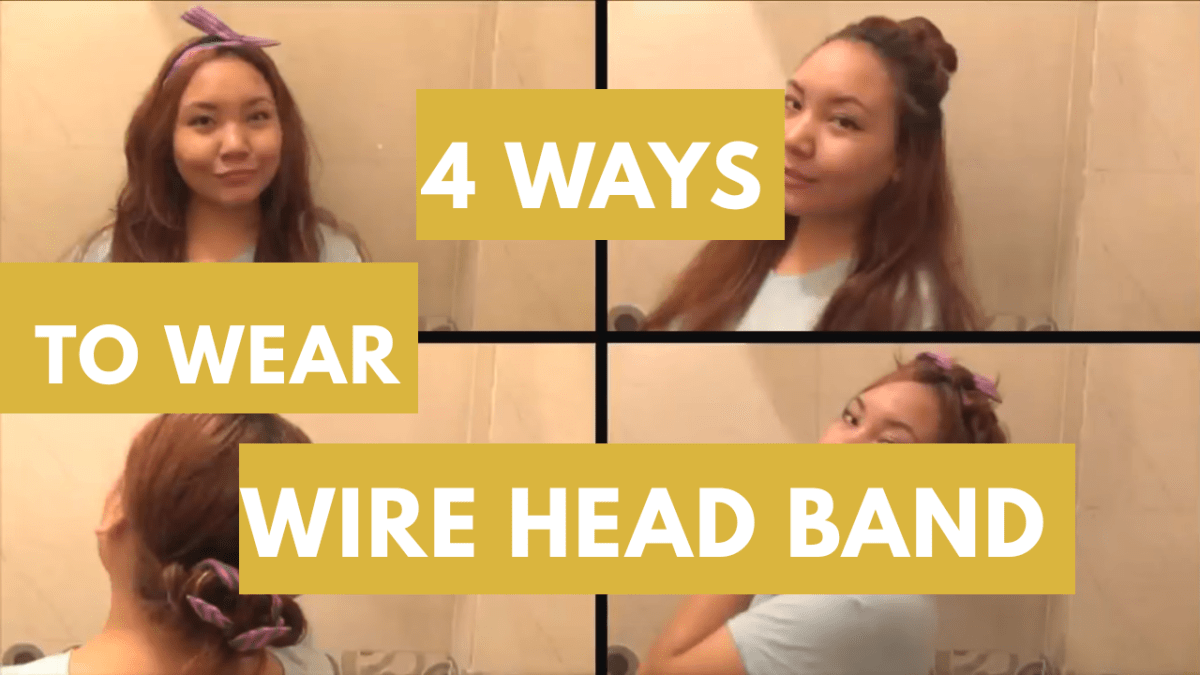 4 Ways To Wear A Wire Headband