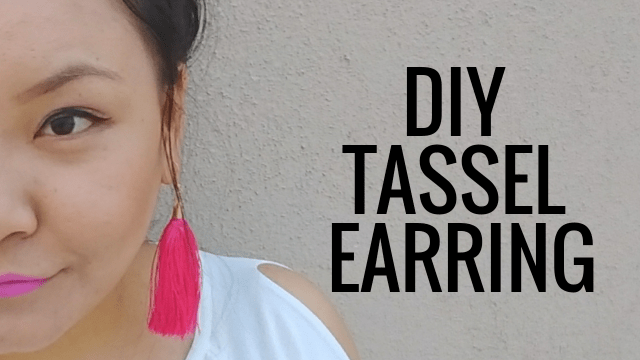 How To Make Diy Tassel Earrings