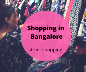 bangalore street shopping commercial street