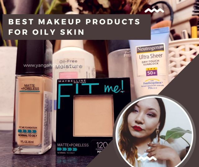 Best makeup products for oily skin