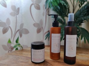 Sadhev skin care products