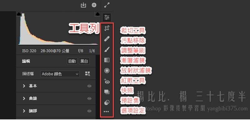 Adobe Camera Raw 12.3 更新改版 | 楊比比 線上學習網