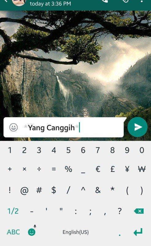 Bold Di Whatsapp : whatsapp, Membuat, Huruf, Italic, WhatsApp, YANGCANGGIH.COM