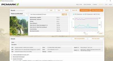 Dell Inspiron 15 7577 PCMark 8 Home