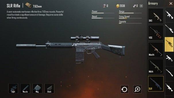 Senjata SLR Sniper baru
