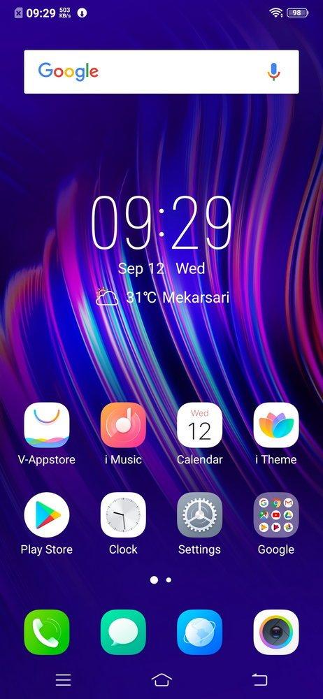 Vivo V11 Pro UI (1)