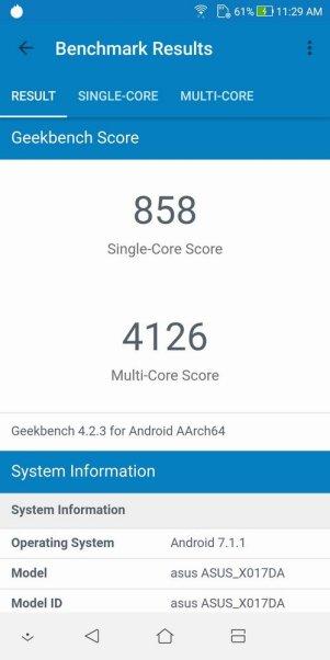 ZenFone 5Q Geekbench