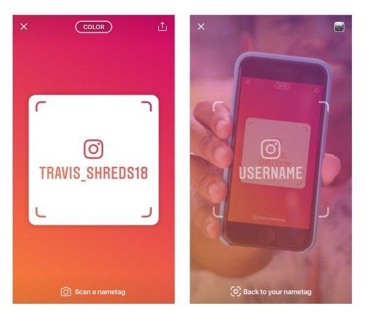 [Tutorial] Cara Menggunakan Fitur Nametag di Instagram 2