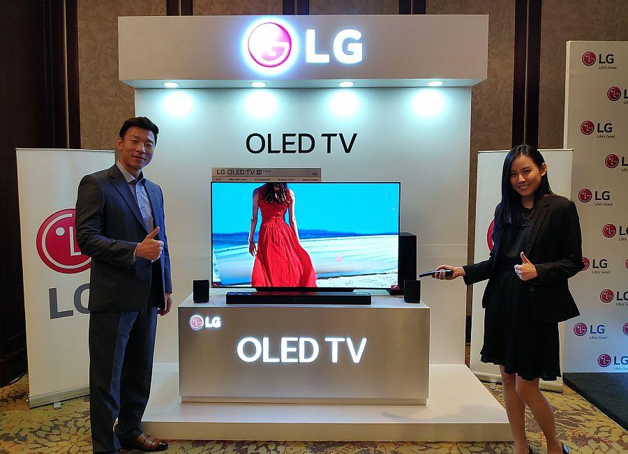 LG Indonesia Luncurkan TV OLED 55 Inci 4K HDR Seharga 25 Juta Rupiah