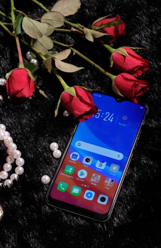 OPPO A7 rose